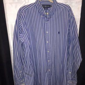 Ralph Lauren Men's Yarmouth Cotton Shirt J36